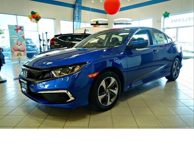 New 2019 Honda Civic LX FWD Sedan