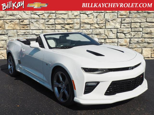 new 2018 chevrolet camaro ss w 2ss ss 2dr convertible w 2ss lisle