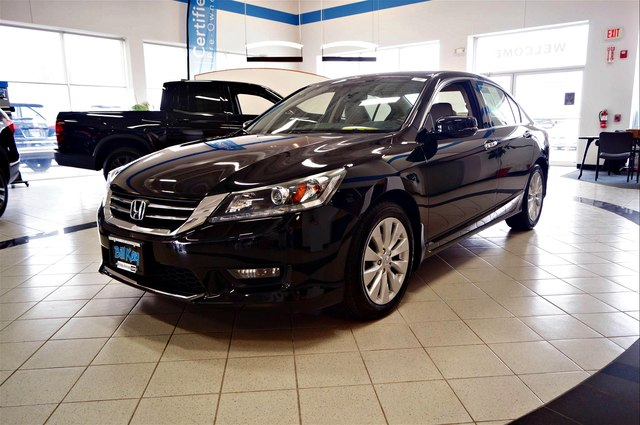 Certified Pre-Owned 2014 Honda Accord EX-L V-6