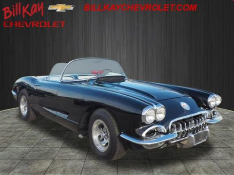 Pre-Owned 1959 Chevrolet Corvette Roadster posi Coupe