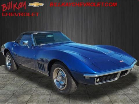 Pre-Owned 1968 Chevrolet Corvette convertible posi Convertible