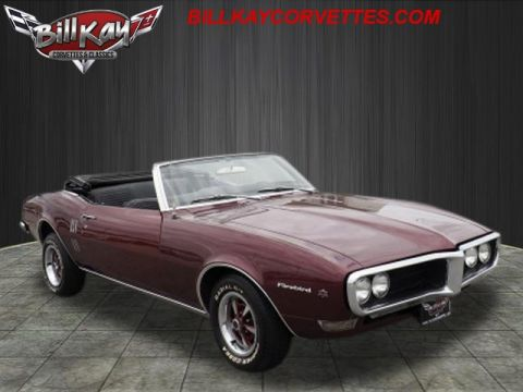 Pre-Owned 1968 Pontiac Firebird CONVERTIBLE POSI Not Specified