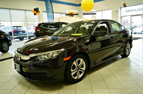 Certified Pre-Owned 2016 Honda Civic LX FWD Sedan