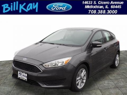 New 2018 Ford Focus SE FWD 4D Hatchback