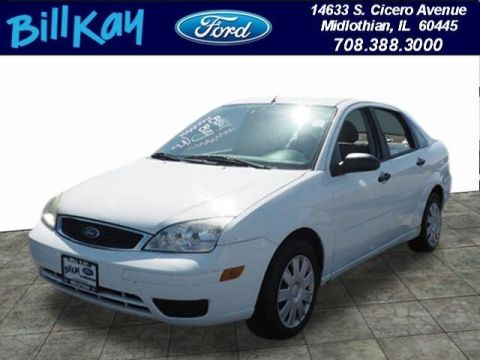 Pre-Owned 2006 Ford Focus ZX4 FWD Sedan