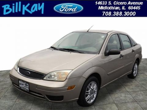 Pre-Owned 2007 Ford Focus FWD Sedan