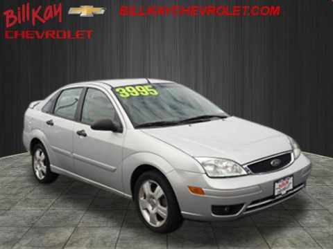 Pre-Owned 2007 Ford Focus SES ZX4 FWD ZX4 SES 4dr Sedan