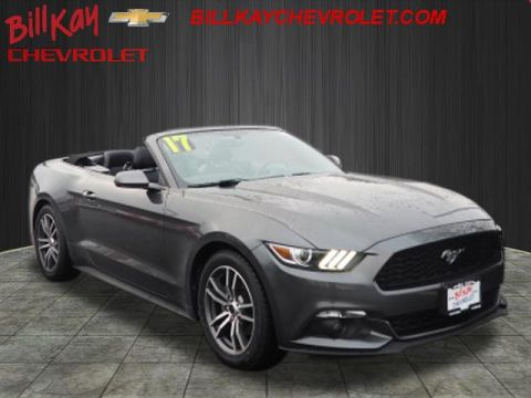 Pre-Owned 2017 Ford Mustang EcoBoost Premium RWD EcoBoost Premium 2dr Convertible