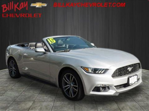Pre-Owned 2015 Ford Mustang EcoBoost Premium RWD EcoBoost Premium 2dr Convertible