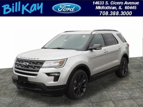 New 2019 Ford Explorer XLT AWD
