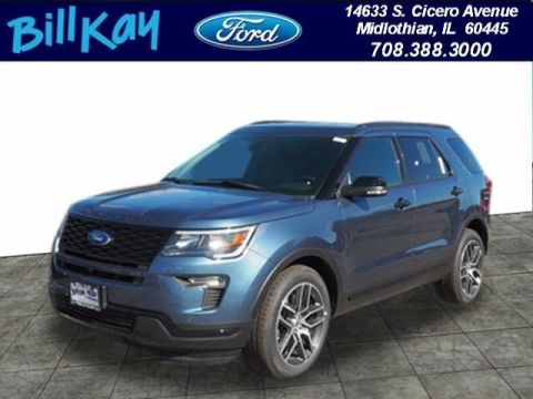 New 2019 Ford Explorer Sport AWD