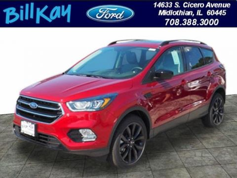 New 2018 Ford Escape SE FWD 4D Sport Utility