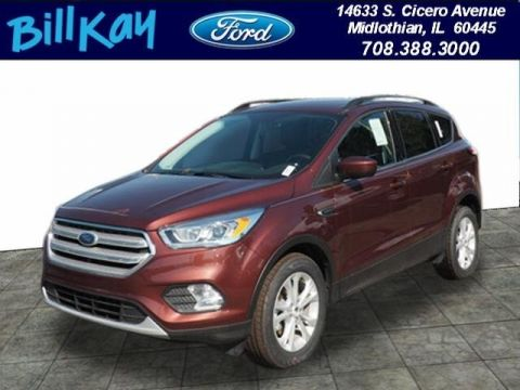 New 2018 Ford Escape SEL FWD 4D Sport Utility