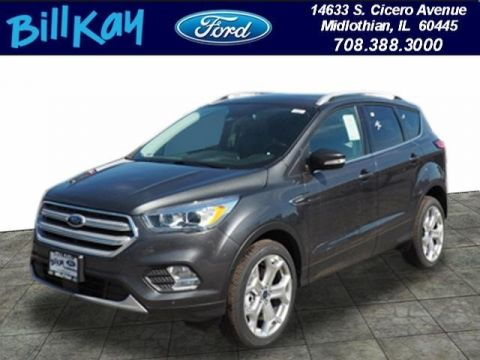 New 2019 Ford Escape Titanium with Navigation & 4WD
