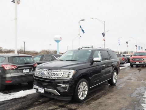 New 2019 Ford Expedition Platinum with Navigation & 4WD