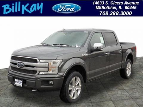 New 2019 Ford F-150 Platinum 4WD