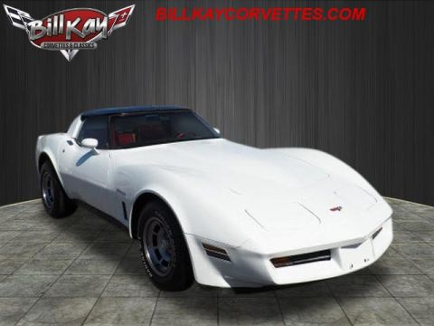 Pre-Owned 1982 Chevrolet Corvette Base RWD 2dr Coupe