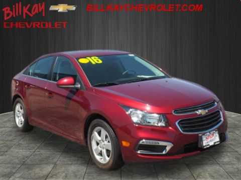 Pre-Owned 2016 Chevrolet Cruze 1LT FWD 1LT Auto 4dr Sedan w/1SD