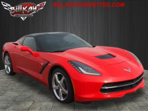 Pre-Owned 2014 Chevrolet Corvette Base RWD Stingray 2dr Coupe w/1LT
