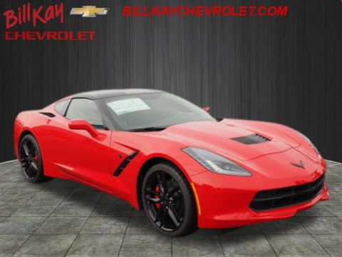 New 2019 Chevrolet Corvette Stingray 1LT RWD Stingray 2dr Coupe w/1LT