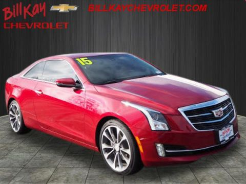 Pre-Owned 2015 Cadillac ATS 3.6L Luxury RWD 3.6L Luxury 2dr Coupe