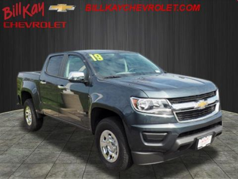 Pre-Owned 2019 Chevrolet Colorado Work Truck 4WD