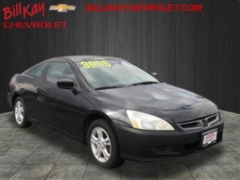 Pre-Owned 2006 Honda Accord EX-L FWD EX 2dr Coupe 5A w/Leather