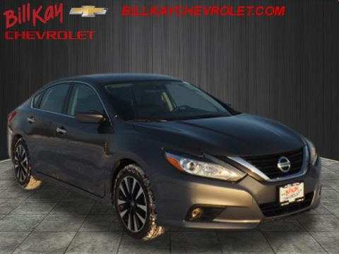 Pre-Owned 2018 Nissan Altima 2.5 SV FWD 2.5 SV 4dr Sedan