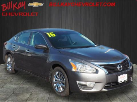 Pre-Owned 2015 Nissan Altima 2.5 S FWD 2.5 S 4dr Sedan