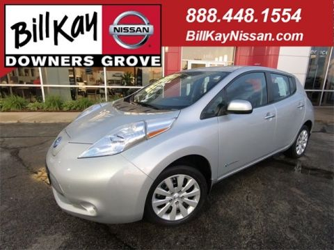 Certified Pre-Owned 2016 Nissan LEAF S FWD Hatchback