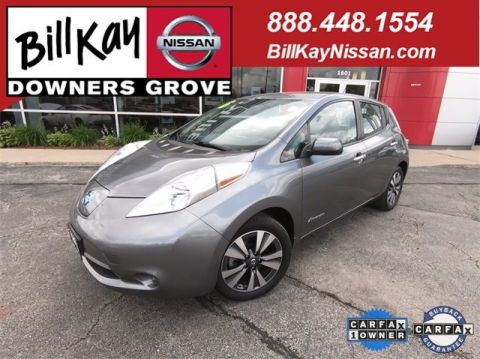Certified Pre-Owned 2016 Nissan LEAF SV FWD Hatchback