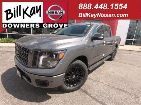 New 2019 Nissan Titan SV with Navigation & 4WD
