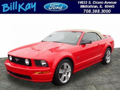Pre-Owned 2007 Ford Mustang GT RWD Convertible