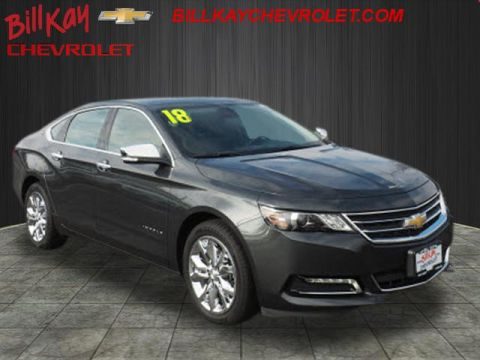 Pre-Owned 2018 Chevrolet Impala LT 1LT FWD LT 4dr Sedan