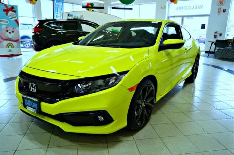 New 2019 Honda Civic Sport FWD Coupe