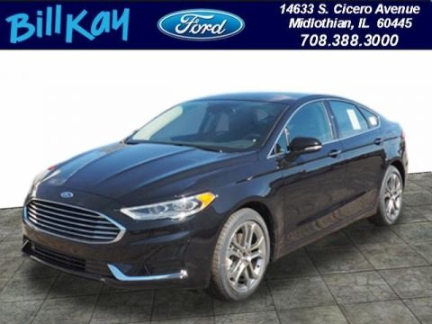 New 2019 Ford Fusion SEL FWD 4D Sedan