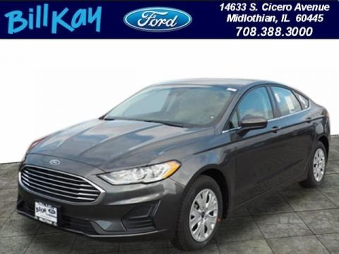 New 2019 Ford Fusion S FWD 4D Sedan