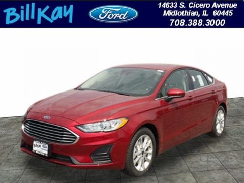 New 2019 Ford Fusion SE FWD 4D Sedan