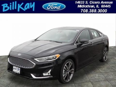 New 2019 Ford Fusion Titanium with Navigation