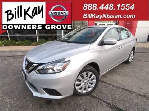 New 2019 Nissan Sentra S FWD 4dr Car