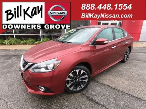 Certified Pre-Owned 2018 Nissan Sentra SR Turbo with Navigation