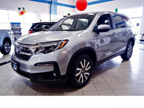New 2019 Honda Pilot EX-L w/Navi & RES AWD with Navigation & AWD