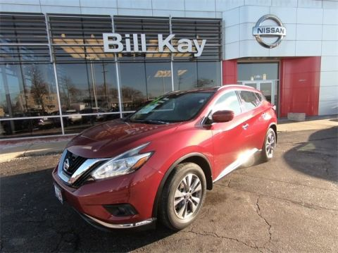 Certified Pre-Owned 2015 Nissan Murano SV with Navigation