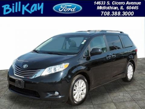 Pre-Owned 2015 Toyota Sienna XLE 7 Passenger AWD