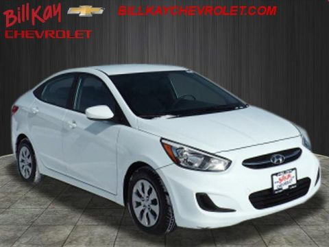 Pre-Owned 2017 Hyundai Accent SE FWD SE 4dr Sedan 6A