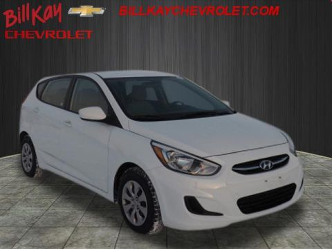 Pre-Owned 2017 Hyundai Accent SE FWD SE 4dr Hatchback 6A