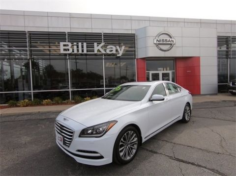 Pre-Owned 2015 Hyundai Genesis 3.8L with Navigation & AWD