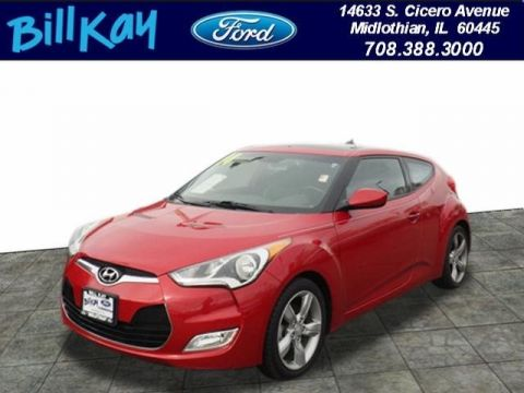 Pre-Owned 2014 Hyundai Veloster w/Black FWD Hatchback