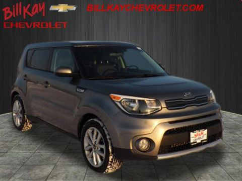 Pre-Owned 2018 Kia Soul Plus Front Wheel Drive + 4dr Crossover
