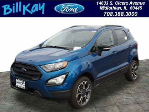 New 2019 Ford EcoSport SES with Navigation & 4WD
